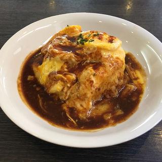 チーズオムライス(ごはんcafe 綴 )