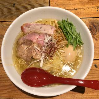 香彩鶏だし特製塩ラーメン(麺屋 翔 本店)
