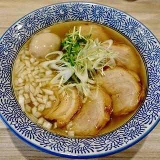 塩そば(チャーシュー増し)味付玉子(麺屋 TAKA )