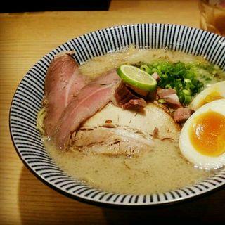 ラム煮干中華そば(全部のせ)(メンショー トーキョー (MENSHO TOKYO))