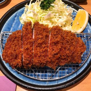上ロースかつ定食(とんかつ檍銀座店)