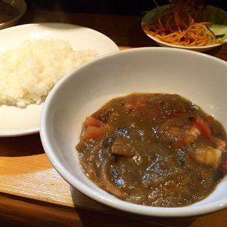 海老カレー(ボンマルシェ食堂 )