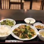豚肉と白菜春雨醤油炒め(福源居 )