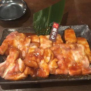■黒ホル【超おすすめ!!】 [牛小腸](大久保酒場 情熱ホルモン )