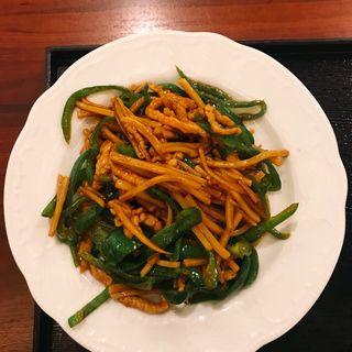 青椒肉絲定食(唐苑 (トウエン))