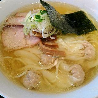 ワンタン麺 塩(支那ソバ 小むろ )