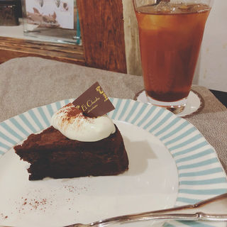 ケーキセット(エクチュアからほり「蔵」本店 )