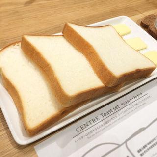 バター食べ比べ3種類(セントル ザ・ベーカリー (CENTRE THE BAKERY))