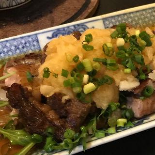 牛のアメリカンステーキおろしポン酢(虎食堂 (タイガーダイナー))