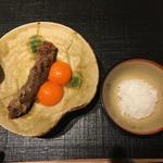 和牛焼きすき焼き(おにく花柳)