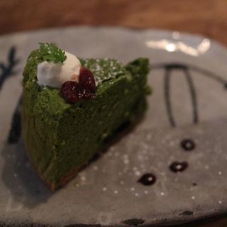 辻利抹茶のチーズスフレ(CAFE KESHiPEARL(カフェケシパール))