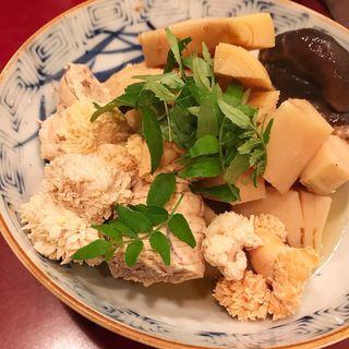 鯛子と若竹煮(かぶら )