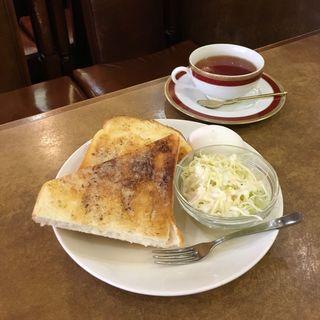 トーストモーニング(なかおか珈琲 中之島店 )