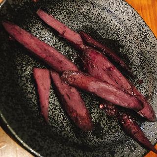 ごぼうの赤ワイン煮込み(いかれたヌードル フィッシュトンズ (いかれたNOODLE Fishtons))