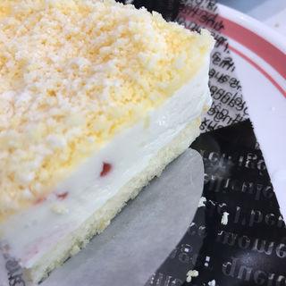 苺のほんわりチーズケーキ