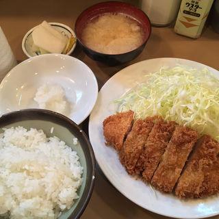 ロースカツ定食(銀座 とん㐂)