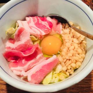 豚天(風流お好み焼き 染太郎)