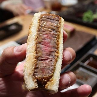 松坂牛のカツサンド(だいごろう )