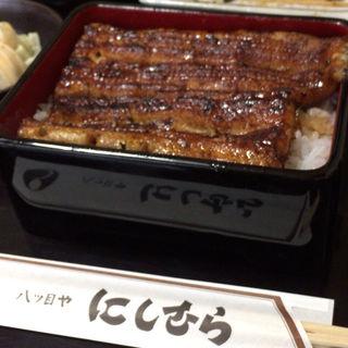 うな重定食(上)(にしむら 目黒店 (やつめや にしむら))