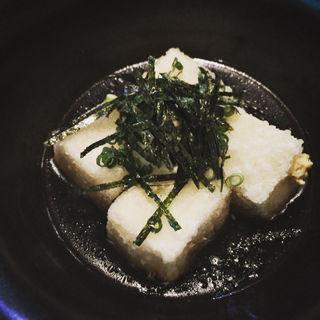 揚げ出し豆腐(もめん)