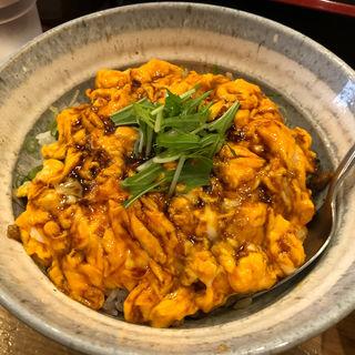 ふわ玉丼(中)卵増し(らーめん専門 和海 (なごみ))