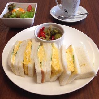タマゴサンド(ノク カフェ (noku cafe))