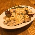 燻製鯖とポテトのサラダ