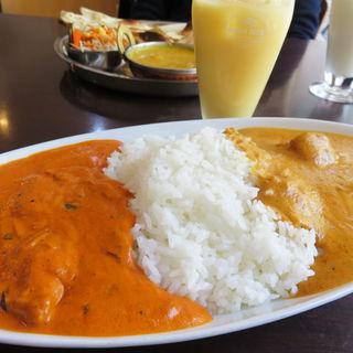 ダブルカレーライスセット(ヒマラヤインドレストラン )