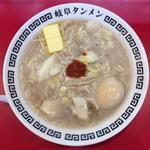 岐阜タンメン 辛さ:2 トッピング:味玉、バター、にんにく