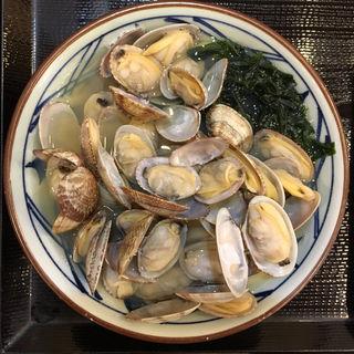 あさりうどん(並)(丸亀製麺 神田小川町 )