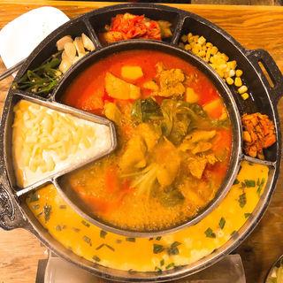 チーズタットリタン(韓国屋台 豚大門市場 馬喰町店  )