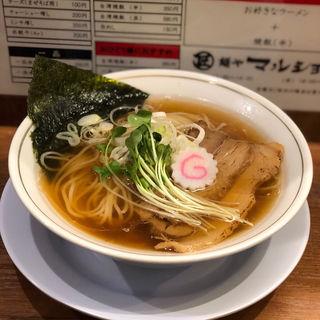 中華そば日向(うすくち醤油)(麺や マルショウ 豊中本店)