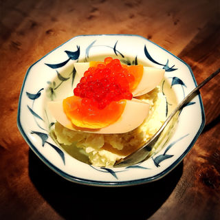 いくらポテトサラダ(あげまき)