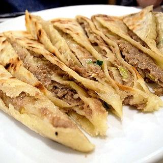 ラム肉のおやき(味坊)