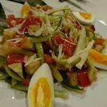 プンタレッラのサラダ