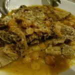 トリッパとひよこ豆の煮込み