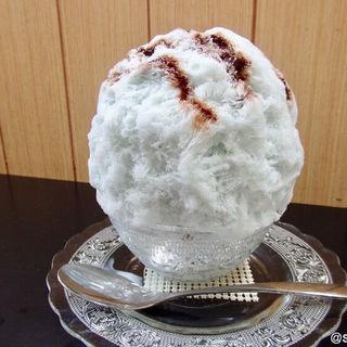 チョコミントかき氷