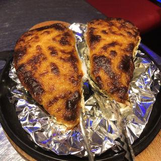 焼き牡蠣ウニクリーム(東京オイスターバー)