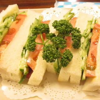 野菜サンド(切通し進々堂 )
