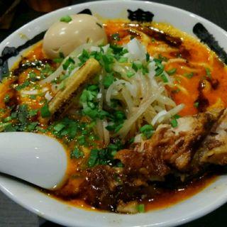 肉々カラシビ味噌らー麺(カラシビ味噌らー麺 鬼金棒 (キカンボウ))