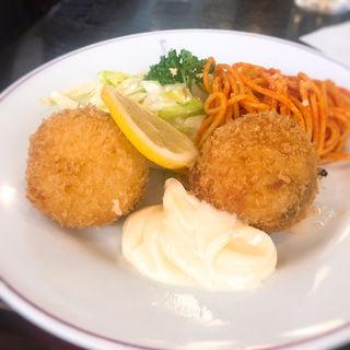 蟹クリームコロッケ(たいめいけん )