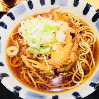 天ぷらそば(そば新 御茶ノ水店 )
