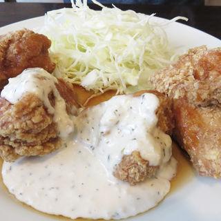 チキン南蛮定食(黄金彩 大博町店)