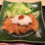 梅おろしチキンカツ定食