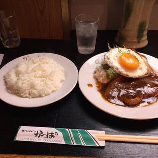 ※平日限定 ミニポークステーキ(名代とんかつ かっぱ )