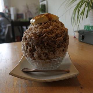 炙りブリュレかき氷 珈琲(cocoo cafe (コクウカフェ))