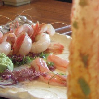 海老と蟹のしゃぶしゃぶ(味処あづま )