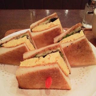 和風たまごサンド(コーヒーハウス マキ (COFFEE HOUSE maki))