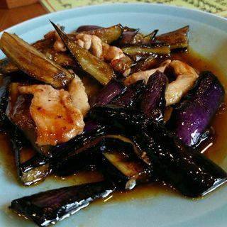 ナスと豚のピリ辛炒め(珍萬21)