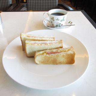 トーストサンドモーニング(英國屋 阪急グランドビル店 (えいこくや))